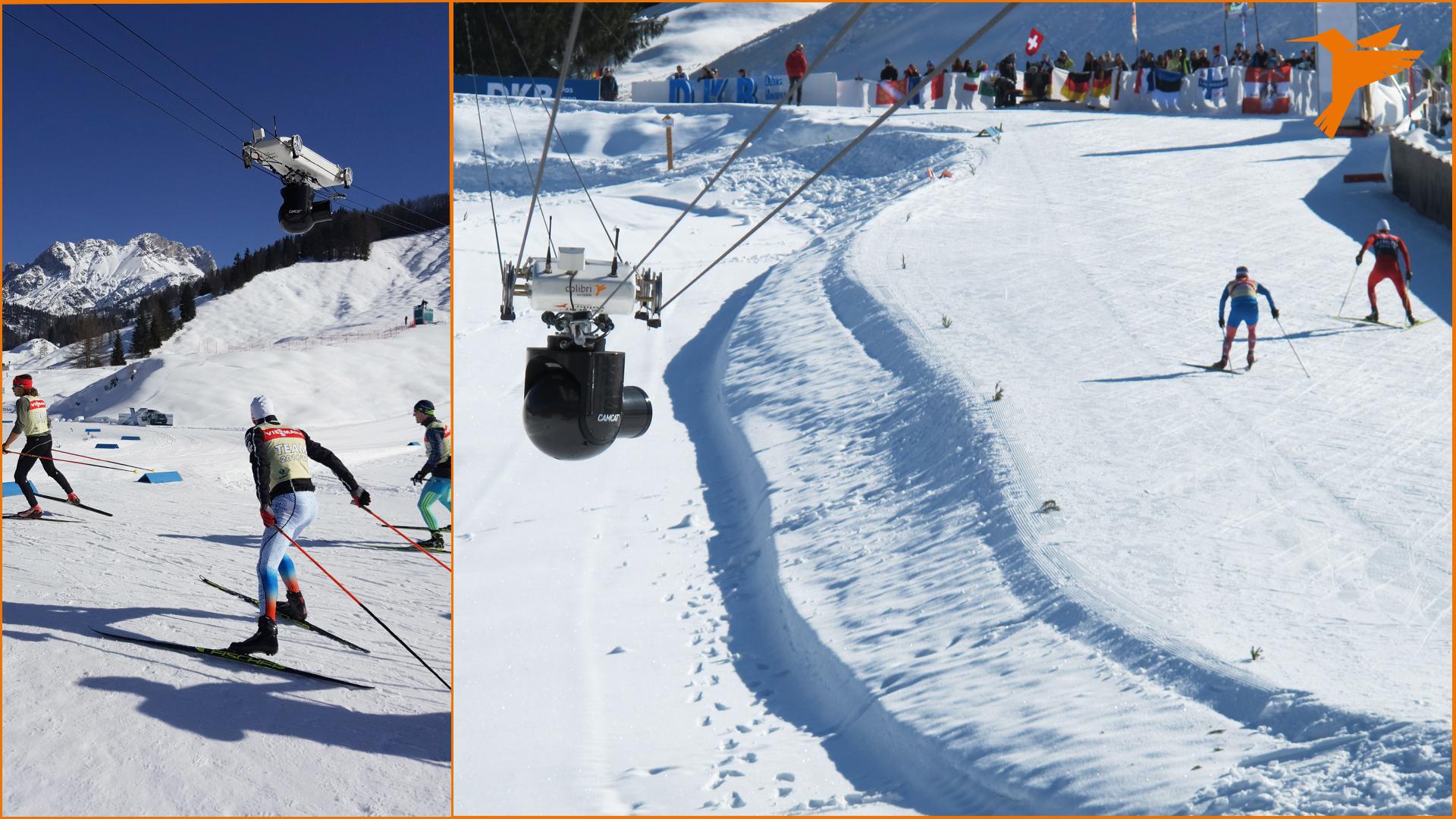 Biathlon, Biathlon WM, IBU, Hochfilzen, ORF, Colibri WireCam, cablecam, wirecam, flycam, Seilkamera, Kameraseilbahn